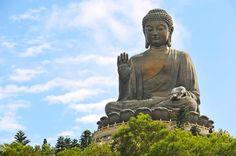 Visit Big Buddha in Hong Kong