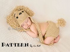 PATTERN  Loopy the Poodle Hat  Diaper Cover   by FashionPatterns, $7.50