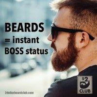 Beard Boss. #beardboss #bossstatus #beards #2dollarbeardclub