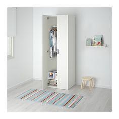 STUVA Kleiderschrank - weiß/weiß - IKEA