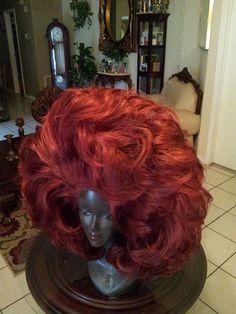 drag queen wig