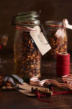 This year, instead of buying a whole load of expensive packets of spiced roasted nuts nuts or honey-roasted ones, make your own!
