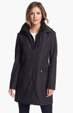 ShopStyle.com: Marc New York by Andrew Marc Coat with Front Insert (Online Only) Medium $118.90
