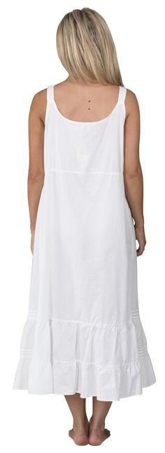 Buy Ruby Cotton Victorian Sleeveless Nightgown 7 Sizes - White - and Find  More From Our Large Selection of Women s Sleepshirts With Big Discount. c98ab121c