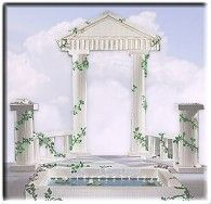 Greek & Roman Mythology decorating party props - decorating kits Greek Mythology Theme Bedrooms