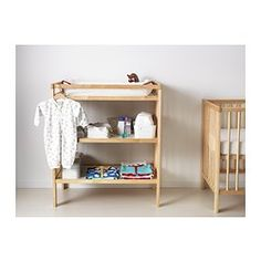 GULLIVER Changing table - IKEA (This changing table might be a little smaller than others, which is ideal.)