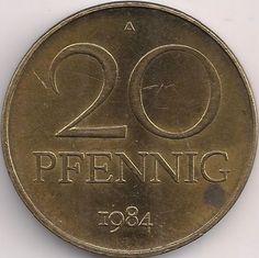 Wertseite: Münze-Europa-Mitteleuropa-Deutsche Demokratische Republik-Deutsche-Mark-0.20-1969-1990