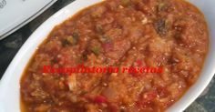 pisto thermomix, recetas thermomix Chili, Soup, Legumes, Vegetables, Cooking, Chile, Chilis, Soups, Chowder