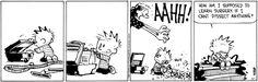 Calvin and Hobbes Comic Strip, August 01, 2014 on GoComics.com