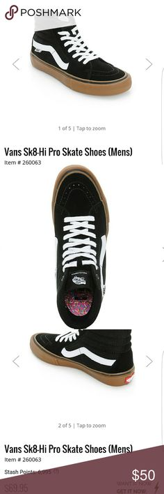 SOLD Vans Sk8-Hi Pro Skate Shoes These r the Skate shoe version w an 38a009cea