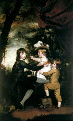 Sir Joshua Reynolds  - Lamb children 1785