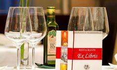 menús Restaurante Ex-libris Chueca Madrid