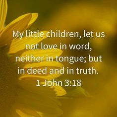 1 John 3:18