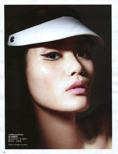 Makeup by- Lisa Eldridge Ming Xi by Liz Collins for Vogue China, September 2012 4