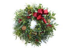 Berry Wreath on OneKingsLane.com
