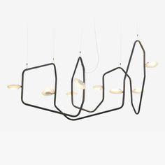 Palindrome 8 Light LED Chandelier