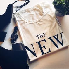 🌟 The New Icon Statement T-shirt 🌟 Make a statement with this tee! Pair it with a bold necklace jeans and a hot pair of heels for a comfy yet bold look. New without tags from company.                                                                   ✅Reasonable offers only ✅Discounted Bundles  🚫Trading or Paypal                                                 💌 1 Day shipping or sooner boutique  Tops Tees - Short Sleeve