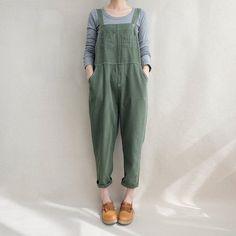 5c8a1900232 Women Leisure Cotton Jumpsuits Linen Overalls