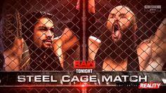 Roman Reigns vs. Braun Strowman - Steel Cage Match: Raw