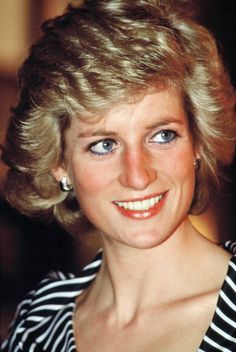 Princess Diana attends a reception at the British Embassy during her official tour of the Gulf States on March 1989 in Abu Dhabi, United Arab Emirates.
