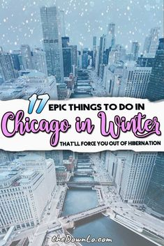 17 Epic Things to Do in Chicago in Winter to Keep You From Hibernating - If you're looking for things to do in Chicago in winter, we have plenty of cold weather fun in th - Chicago Travel, Travel Usa, Chicago Trip, Travel Tips, Chicago Vacation, Chicago Illinois, Train Travel, Travel Hacks, Nye Chicago