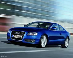 Audi A5 in action
