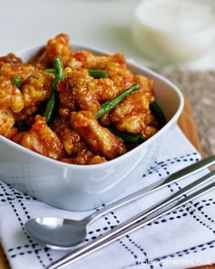 Sweet Chili Fried Chicken.