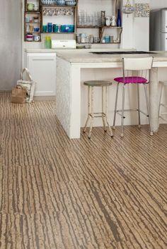 Cork flooring. By Granorte