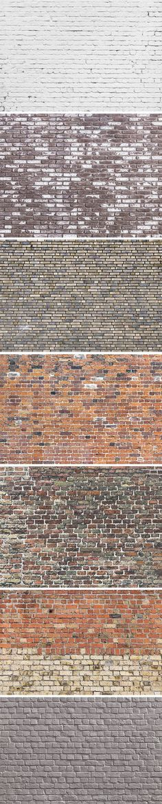 Today's freebie is the second volume of our brick wall textures, perfect to use for adding an urban look to your designs...