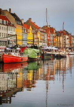 Colours of Copenhagen, Denmark