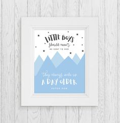 Little Boys Should Never Be Sent to Bed  by ChynnaHansenDesigns