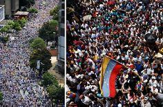 23 Poderosas fotos de la 'Toma de Caracas' por la oposición venezolana