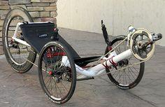 Upright Bike And Trike On Hitch Mounted Car Rack