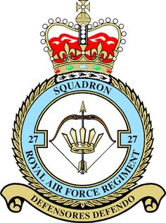 #27 Sqn RAF Regt was formed at RAF Yatesbury on 3rd Sep 1951 in the Light Anti-Aircraft role. With its 12 Bofors L60 guns, were almost immediately deployed to the Middle East to Abu Suer in Egypt. Here, on 28th Nov 1951, the Sqn saw its first action when a mobile patrol encountered a number of Egyptians sabotaging cables.The Sqn saw continued service in the Internal Security role in an around Nicosia until, due to the worsening situation in the British colony, it was deployed to Aden in…