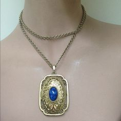 TAKE Additional 50% OFFLocket Necklace Long chain 29 inches locket necklace Avon Jewelry Necklaces