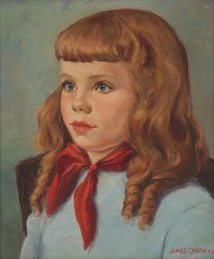 Portrait of a Girl, James Chapin, c. 1950
