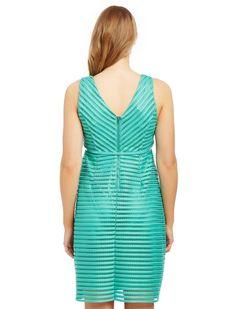 Jacquard Lace Maternity Dress, Marine Green