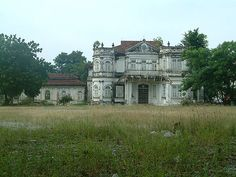 Mansion ruin - 'Northam Lodge' 1910 Georgetown Penang Malaysia