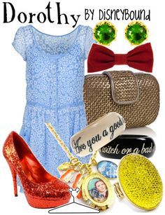 Dorothy (The Wizard of Oz) Inspired Outfit