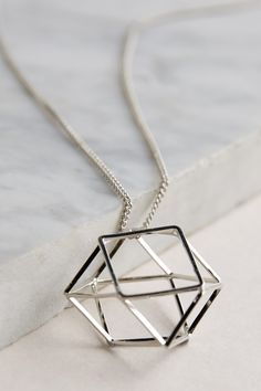 Polygon Pendent Necklace