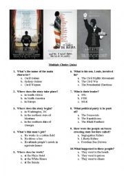 English worksheet: The Butler movie quiz   The butler movie ...