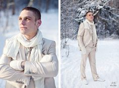 ♡ White #winter #wedding #Groom ... For wedding ideas, plus how to organise an entire wedding, within any budget ... https://itunes.apple.com/us/app/the-gold-wedding-planner/id498112599?ls=1=8 ♥ THE GOLD WEDDING PLANNER iPhone App ♥  For more wedding inspiration http://pinterest.com/groomsandbrides/boards/ photo pinned with love & light, to help you plan your wedding easily ♡