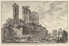 Giovanni Battista Piranesi | The Fontana dell'Aqua Giulia (Vedute dell avanzo del Castello del'Aqua Giulia) | The Met