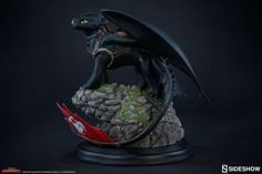 Dreamworks Dragons Toothless Statue