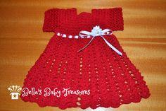 Preemie Dress by BellasBabyTreasures on Etsy