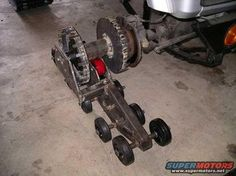 Homemade OffRoad Vehicles tracked vehicle build up
