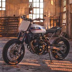In Love: CCM 644 by @wolfmoto.cc of South Africa now up on @bikeexif! : @woodstockmotoco / @devin_paisley. #ccm644 #tracker #supermoto