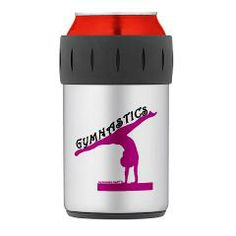 Gymnastics Can Insulator at www.GymnasticsTees.com
