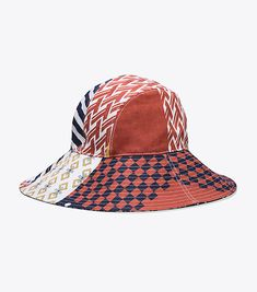Visit Tory Burch to shop for Floral Patchwork Bucket Hat and more Womens In  Color. 3e7a22d020e9