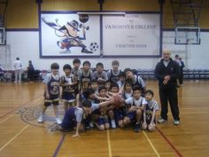Grade 5 Vancouver College Team - Jay was the MVP